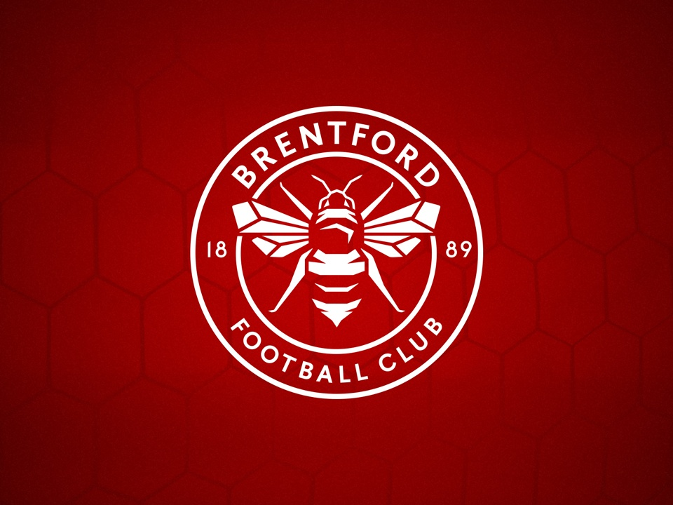 How Long Is A Football Pitch >> Brentford FC | Introducing our new club crest